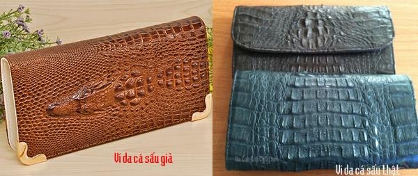 Cách chọn mua ví da cá sấu