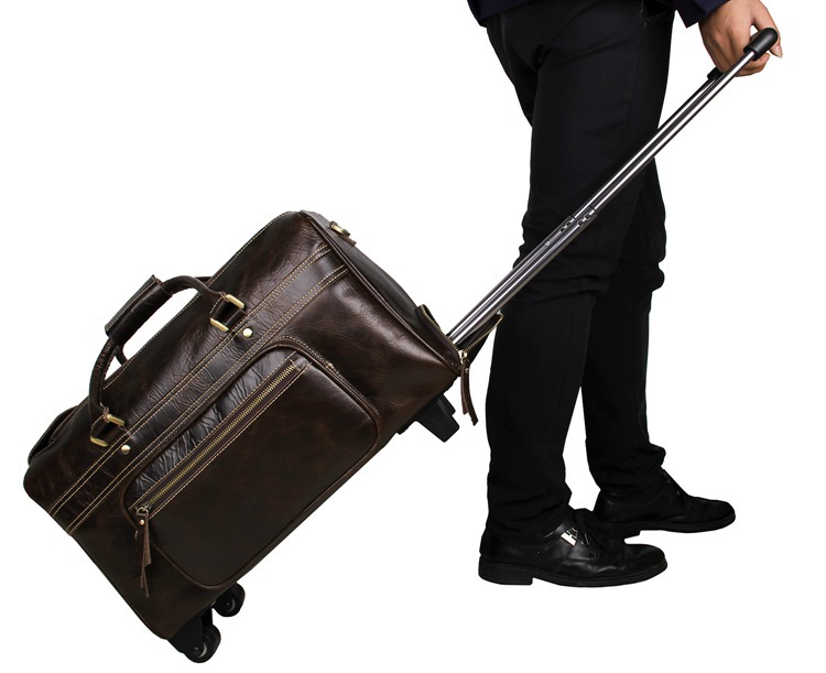 Túi xách du lịch có cần kéo